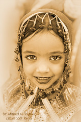 A cute face (digitalazia) Tags: portrait people face kids children nikon traditional jalan oman omani      d700   omanpeople
