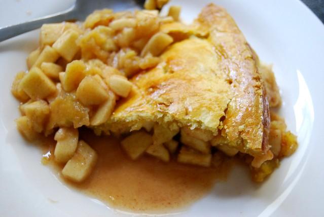 american style apple pie