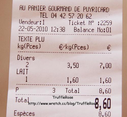 Au Panier Groumand 蔬果店-Puyricard-100517
