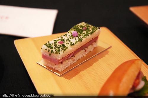 Le Salon De Thé de Joël Robuchon - Premium Ham with Mustard Seed Sandwich