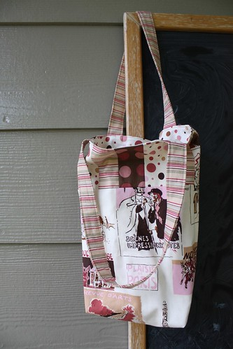 Fat Quarter Friendly Small Tote