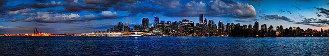Vancouver HDR Skyline