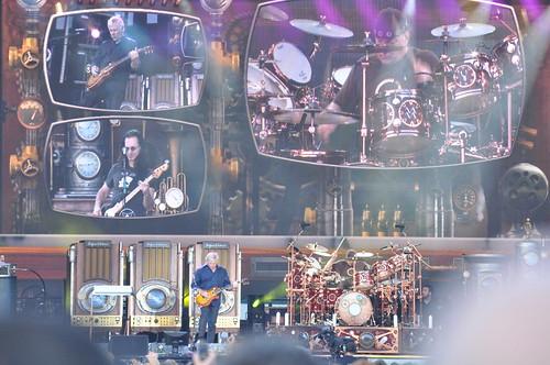 Rush at Ottawa Bluesfest 2010