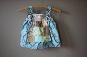 Little Lady - Hushabye knotted apron dress - 12m / 2T