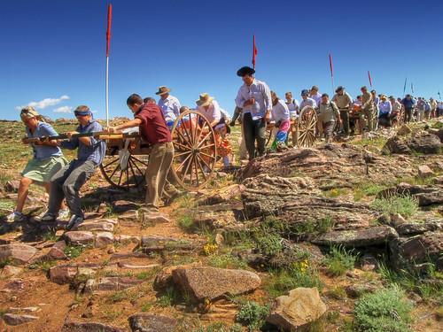 pioneer handcart trek