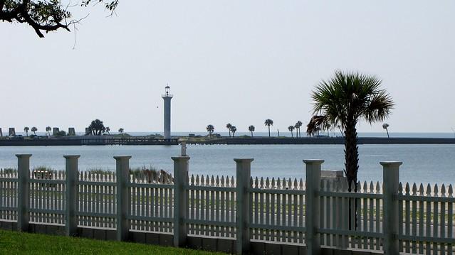 View along the Gulf Coast
