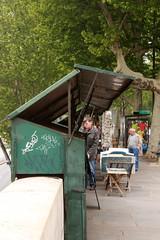 Büchermarkt an der Seine, Paris