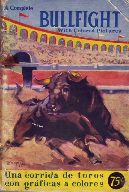 Bullfight with Colored Pictures
