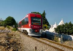 FSE ATR220.013 e i  Trulli di Ceglie (Effimera59 - Donadelli Daniele) Tags: train trains ferrovia treni