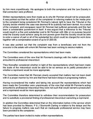 Law Society of Scotland investigation into crooked lawyer Andrew Penman of Stornomth Darling Solciitors Kelso 4