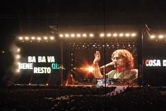 Bambolina e Barracuda (VALERIA MORRONE  ) Tags: rome roma reflex concert europa europe stadium live concerto valeria rom barracuda luciano notturno stadio liga olimpico morrone ligabue bambolina  rom  evrop
