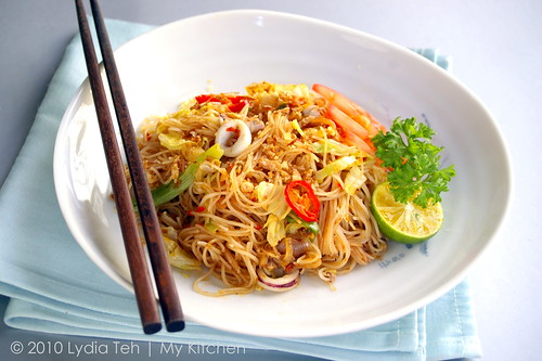 Nyonya Style Fried Vermicelli