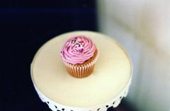 Tracycakes (Jacqueline B Klassy) Tags: pink dessert lunch sweet delicious mmm cupcake sprinkles pentaxk1000 happycake tracycakes