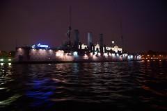 "Аврора под флагом ""газпрома"" (NakhodkaLS) Tags: night sony fullframe город санктпетербург a850 tamronspaf2040mmf2735if tamronaf2040lens"