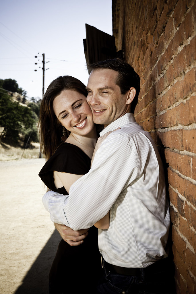 Knights Ferry Engagement Portraits