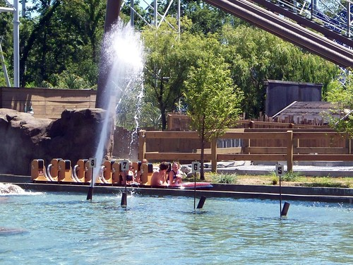 Cedar Point - Shoot the Rapids Water Cannon