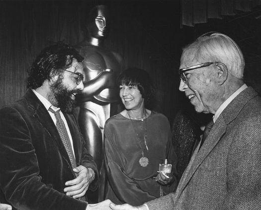 Francis Ford Coppola Fay Kanin and King Vidor
