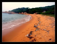 Hong Kong's Abel Tasman 2 (skybluetara) Tags: travel sea tourism beach hongkong garbage pollution rubbish lonelyplanet lammaisland abletasman orangesand oceran