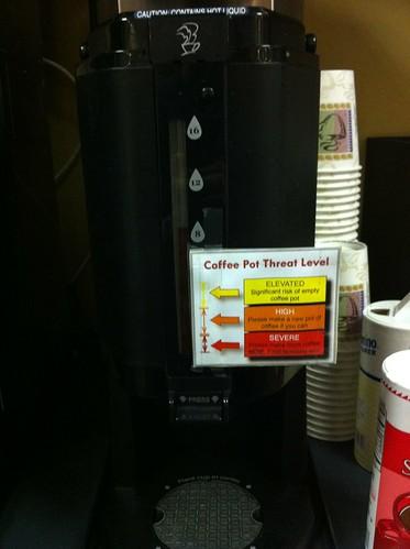Coffee Pot Threat Level