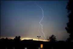 Ein ordentliches Donnerwetter (PirAnja314) Tags: germany lightning blitz gewitter 2010 donner unwetter ilvesheim