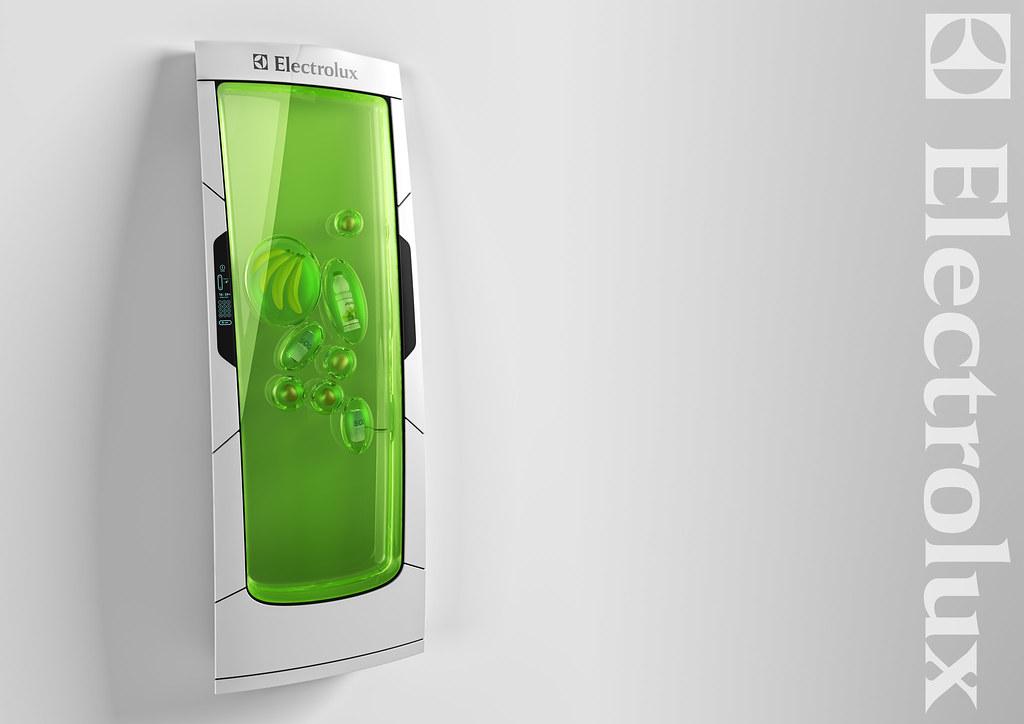 Bio Robot Refrigerator, Yuriy Dmitriev, Russia – Cool, Green, Food