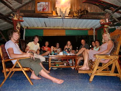 In ons 'hippiehostel'