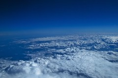 Clouds over the North Sea (Lardarz.) Tags: sea sky cloud seascape clouds nikon cloudporn nikond40x