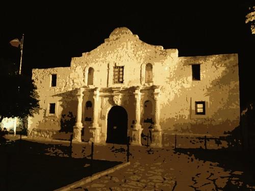 Alamo--Posterize