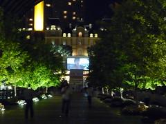 恵比寿ガーデンプレイスで無料の野外映画会 2010