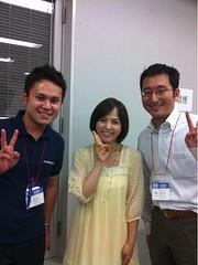 いとうまい子さん @maimai818 と、うちの亀谷君と 僕