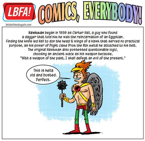 Comics Alliance/LBFA Presents : Comics, Everybody! Hawkman!