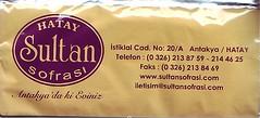 Hatay Sultan Sofrası