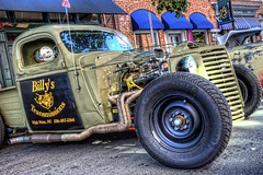 Rat Truck at the Heavy Rebel Weekender (Carolinadoug) Tags: truck nc nikon rat northcarolina pickup pickuptruck hotrod hdr winstonsalem topaz ratrod hrw photomatix kustomkulture heavyrebelweekender dougjohnson d700 worldcars topazadjust