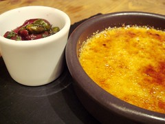 28-50 Wine Workshop and Kitchen - Pistachio brulée with cherries