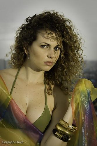 Patricia Dall, Brazil Sexy Model in Bikini