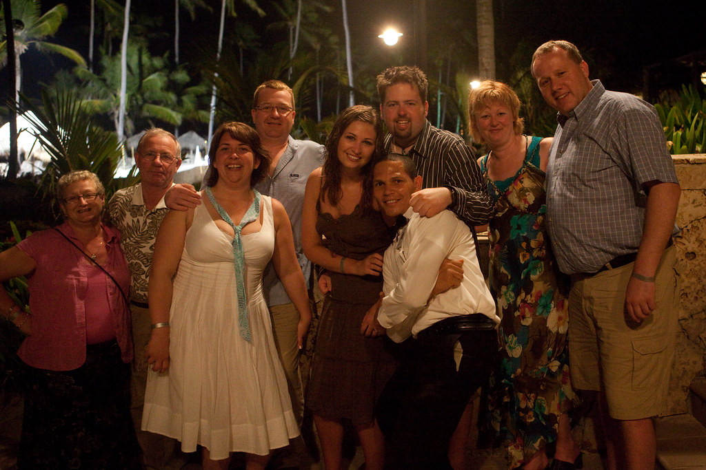 Members of the Groom's family, great people!
