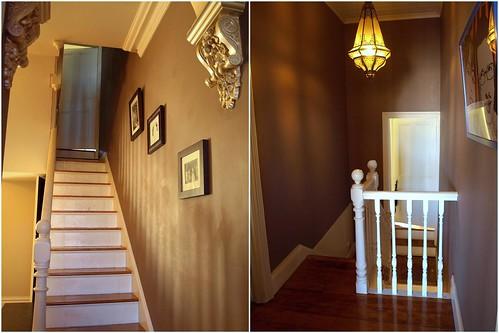 Escaliers et pallier