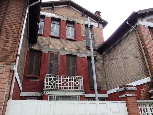Fachada principal da Vila Matarazzo, casa do Chefe. Belém.