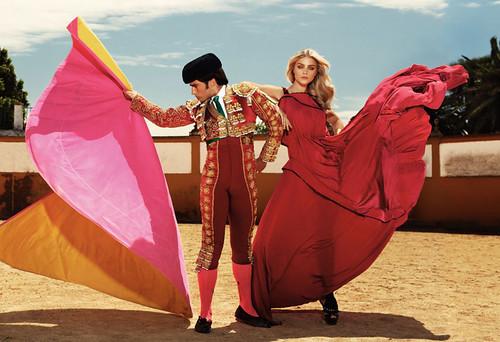 CandyCandyy: Jessica Stam para Harper's Bazaar