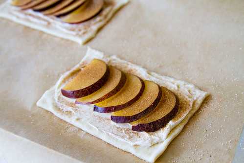 Puff Pastry Plum Tartlets - 3