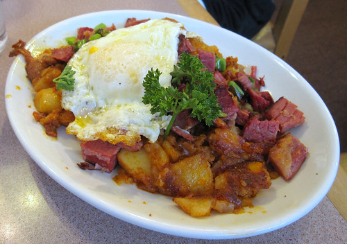 corn beef hash, the Pantry