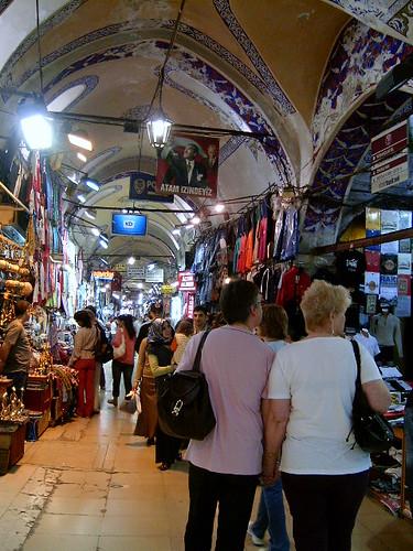 Ir de compras por la ciudad de Estambul