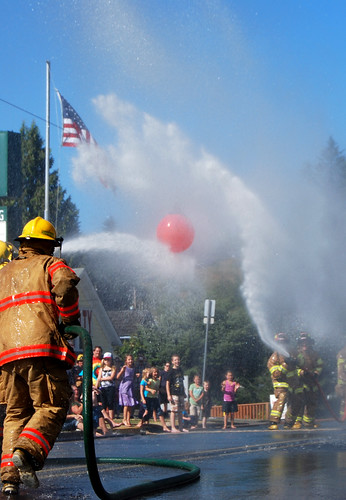 25 - Fire Department Water Fight