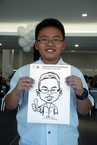 Caricature live sketching for Performance Premium Selection BMW - Day 2 - 11