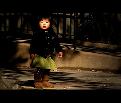Project C.I.N.E.M.A.T.I.C: Feeling out of place (Siannon) Tags: child expression cinematic