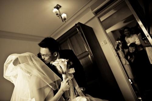 kiss bride