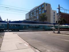 Coaster (shiftynj) Tags: california train sandiego coaster sandiegoca bombardier sandiegopride bilevelcoach sandiegopride2010 sandiegocoastexpressrail
