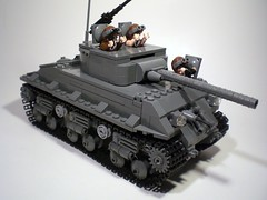 M4A3E8 Sherman... (PhiMa') Tags: tank lego wwii ambulance ww2 eto worldwar2 allies europeantheatre