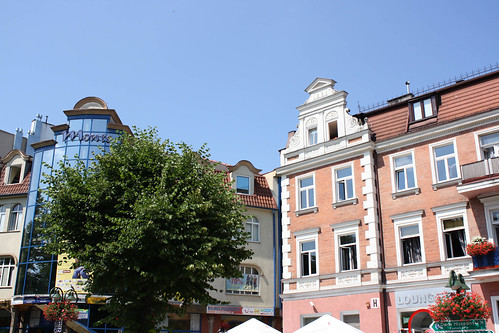 This is where Chelsea, and later Piotr, lived when they first moved to Poland. This is a pretty swanky area of the Tri-Cities, but ultimately too loud and too expensive.