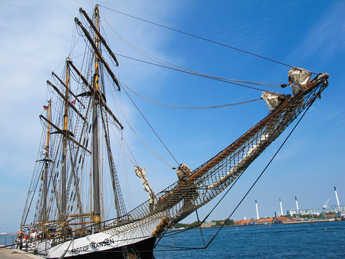 A Tall Ship - Copenhagen, Denmark
